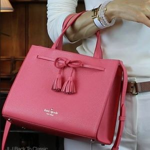 NWT Kate Spade Hayes Street Small Isobel in Guava